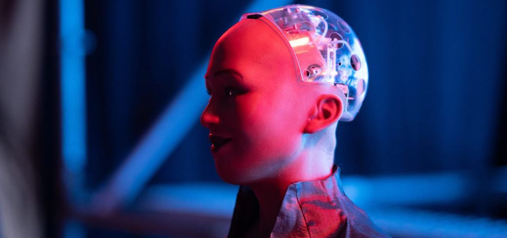 """World famous """"Sophia the robot"""" in Cyprus"""